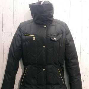 Cole Haan Black Winter Coat , Down Fill